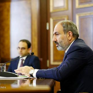 Meeting of the anticorruption Council in Armenia. (Photo: Prime Minister's office of Armenia)