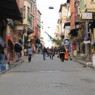 Istanbul's Gedik Pasa district, where a lot of migrants work. (Photo: Gayane Mirzoyan)