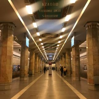 Few people use the metro in Baku these days. (Photo: Parvana Gurbanli)