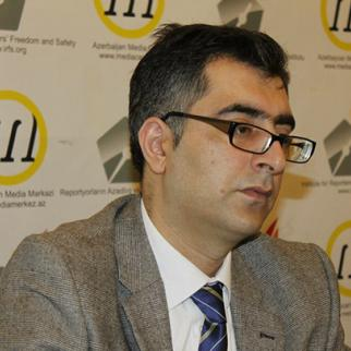 Anar Mammadli, head of the Election Monitoring and Democracy Study Centre in Azerbaijan. (Photo: EMDS)