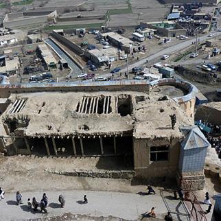 The Bala Hissar fort in Gardez, southern Afghanistan. (Photo: Sahil Mangal)