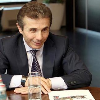Georgian prime minister Bidzina Ivanishsvili. (Photo: Prime minister's publicity office)
