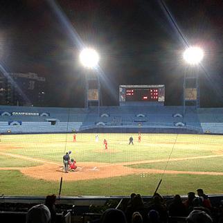Baseball stadium in Havana. (Photo: Alexander Robles)
