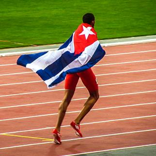 Cuban athlete at the London 2012 Paralympic Games. (Photo: Garry Knight/Flickr)