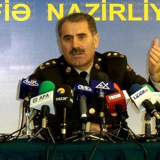 Azerbaijani defence ministry spokesman Eldar Sabiroglu. (Photo: Afqan Muxtarli)