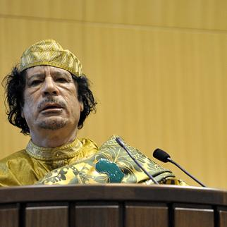 Many Arab commentators said Qaddafi appeared seriously disturbed during his televised speech, while others said mockingly that he should be on a comedy show.