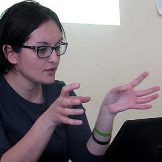 Anna Arganashvili of the Partnership for Human Rights in Georgia. (Photo courtesy of A. Arganashvili)