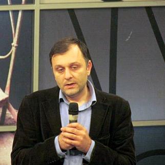 Giorgi Baratashvili. (Photo: Georgian Public Broadcaster Channel 1 TV)