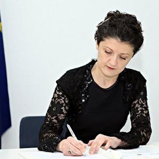 Georgia's justice minister Tea Tsulukiani. (Photo: Georgian justice ministry).