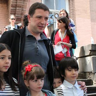 Gigi Ugulava, re-elected as mayor of Tbilisi, says he's ready to work with the opposition. (Photo: Maia Avaliani)