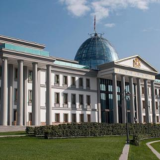 The presidential residence in Tbilisi is likely to be handed over for use as a university instead. (Photo: Levan Kherkheulidze).
