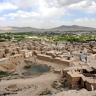 Ghazni city, the provincial centre.