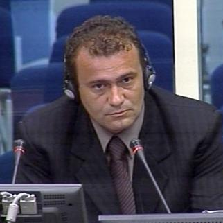 Bojan Subotic, defence witness in the Mladic trial at the ICTY. (Photo: ICTY)
