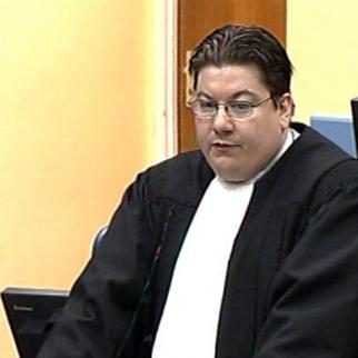 Dragan Ivetic, defence lawyer in the Mladic case at the ICTY. (Photo: ICTY)