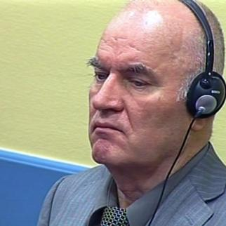 Ratko Mladic during his initial appearance at the ICTY. (Photo: ICTY)