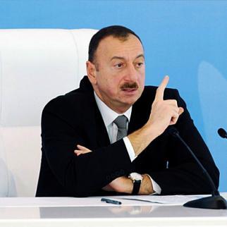 President Ilham Aliyev of Azerbaijan. (Photo: Azertaj news agency)