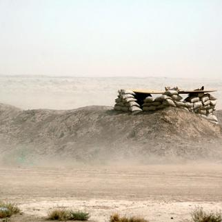 Iraq's long borders remain vulnerable to infiltration by smugglers and insurgents. (Photo: Kamaran Najm/Metrography)