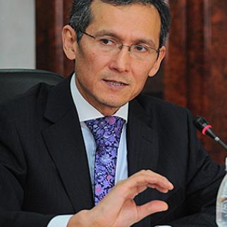 First Deputy Prime Minister Joomart Otorbaev. (Photo: Press service of Kyrgyz government)