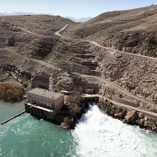 The Kajaki dam in Helmand province. (Photo: Musadeq Sadeq/US State Department/ Wikimedia Commons)