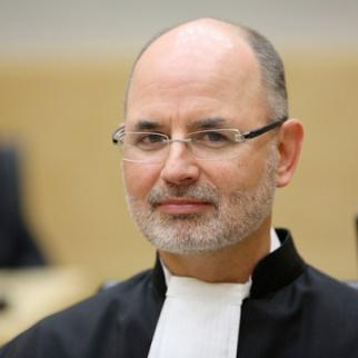 Anton Steynberg, lead trial lawyer for the prosecution, informed the court of the decision to withdraw the witness on May 14. (Photo: ICC-CPI/Flickr)