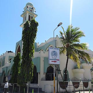 Masjid Musa, a Mombasa mosque at the centre of concerns about rising radicalisation. (Photo: Joseph Akwiri)