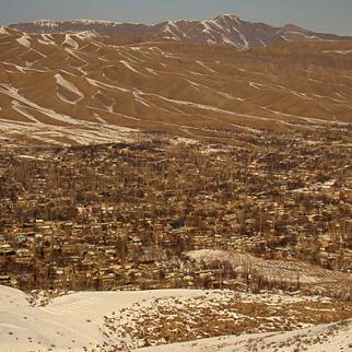 View of the Sokh enclave, which belongs to Uzbekistan but is located inside Kyrgyz territory. (Photo: IWPR)