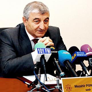 Azerbaijan's Central Election Commission chief Mazahir Panahov. (Photo: Afqan Muxtarli)