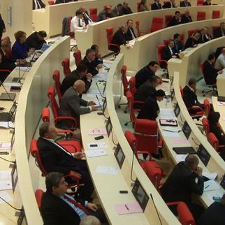 Georgia's parliament has moved from Tbilisi to new premises in Kutaisi. (Photo: Akhali Gazeti)