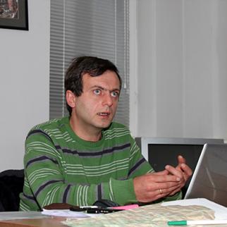Rezo Getiashvili of the Caucasus Environmental NGO Network. (Photo: Mirian Koridze)