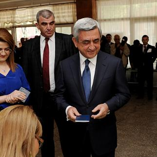 Armenian president Serzh Sargsyan. (Photo: Photolur agency)