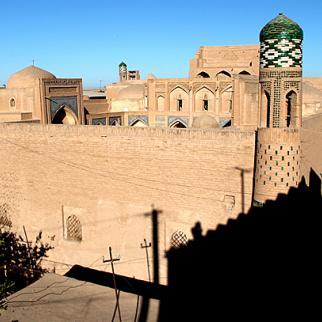 Khiva, a well-preserved walled town in northwest Uzbekistan. (Photo: Nargiza Ryskulova)