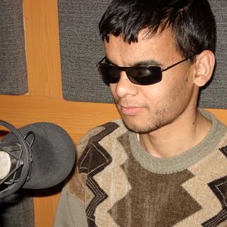 Sayed Mohammad Yazdan Parast is a successful presenter and news editor with Radio Nehad, Mazar-e Sharif.
